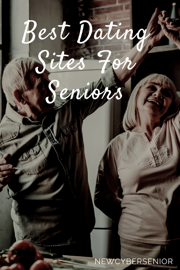 two seniors dating and dancing in the garage