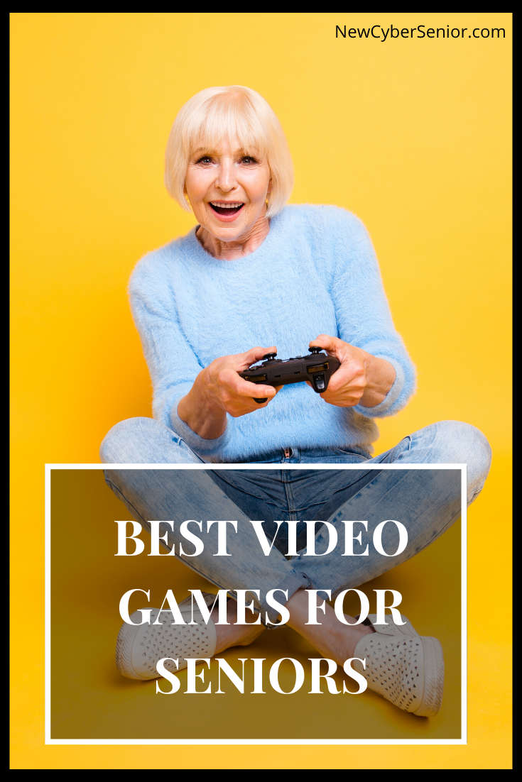 Best Video Games For Seniors Featured Image