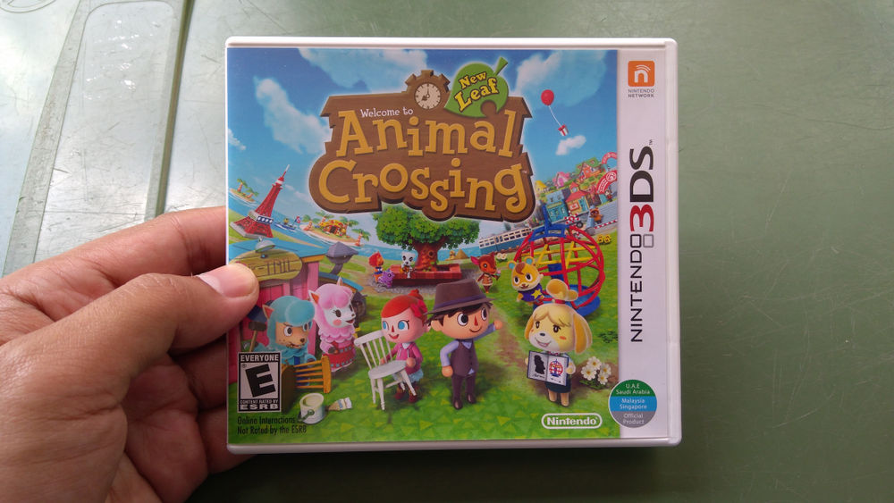 animal crossing for nintendo 3ds