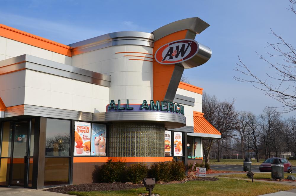 a&w all american fast food restaurant