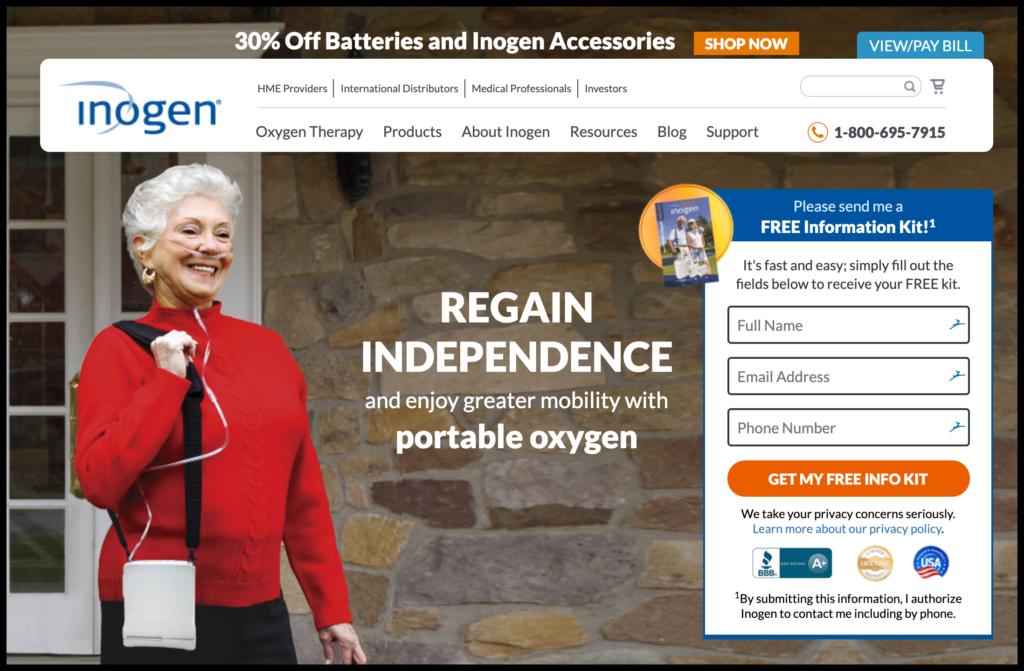 inogen portable oxygen machines