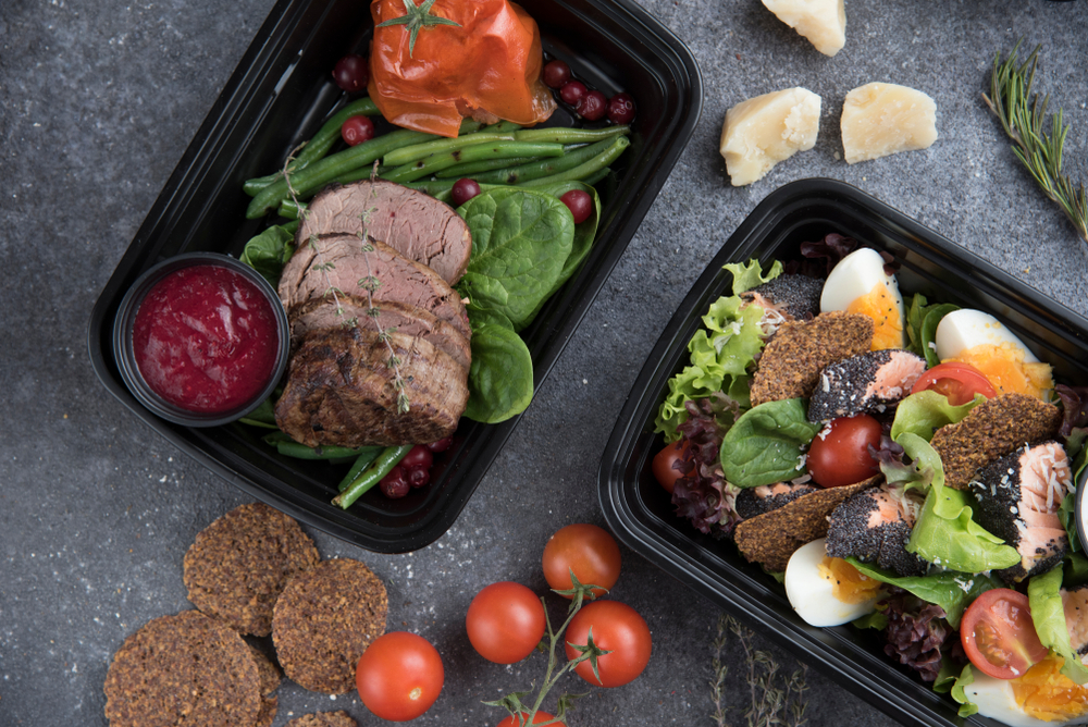 meat and vegetable focused meal kit delivered ready to eat
