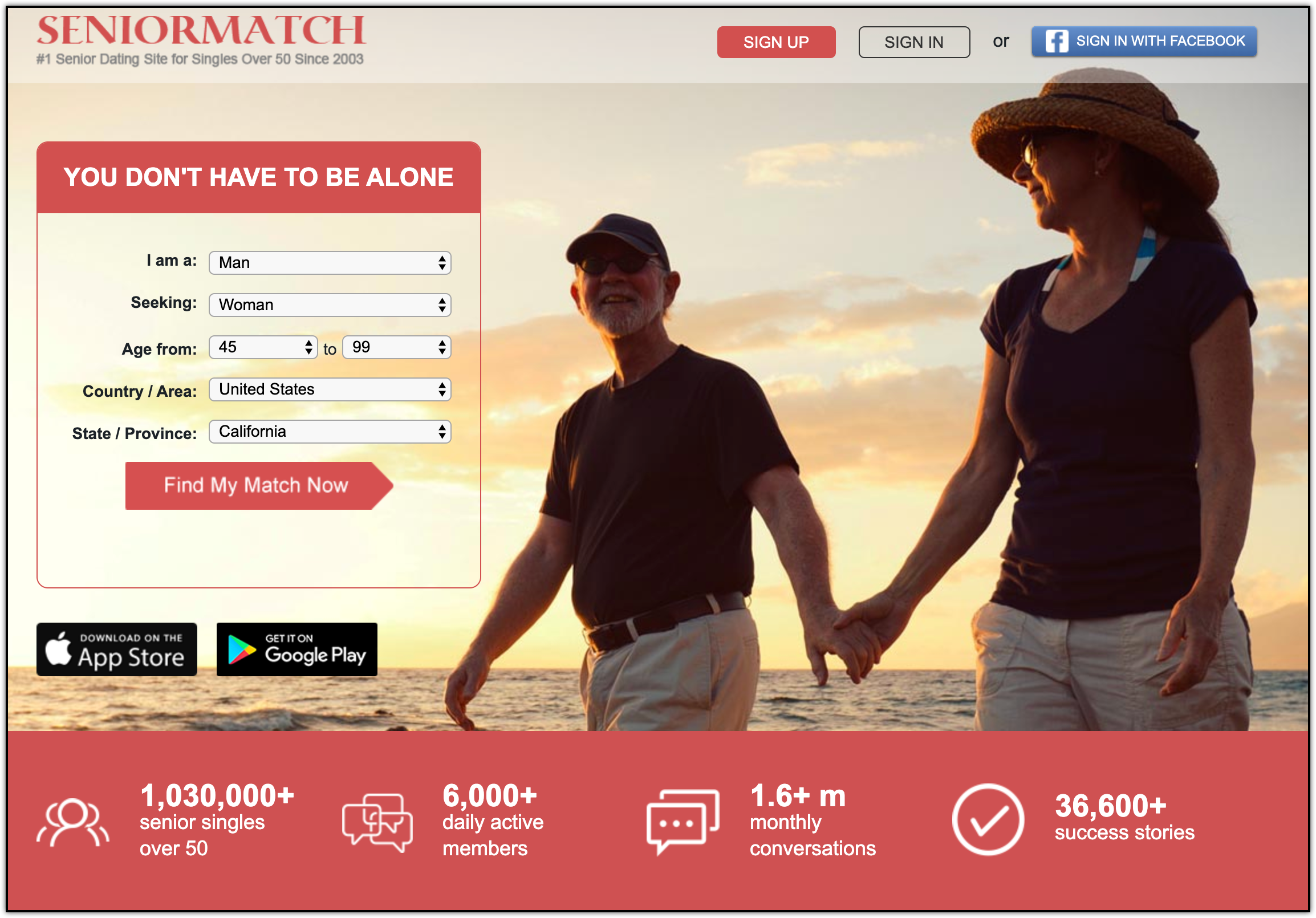A roundup of the best senior dating sites