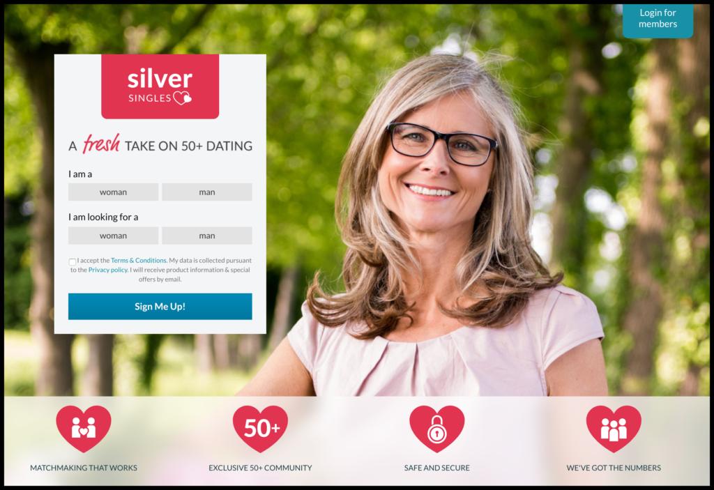 silversingles senior dating website