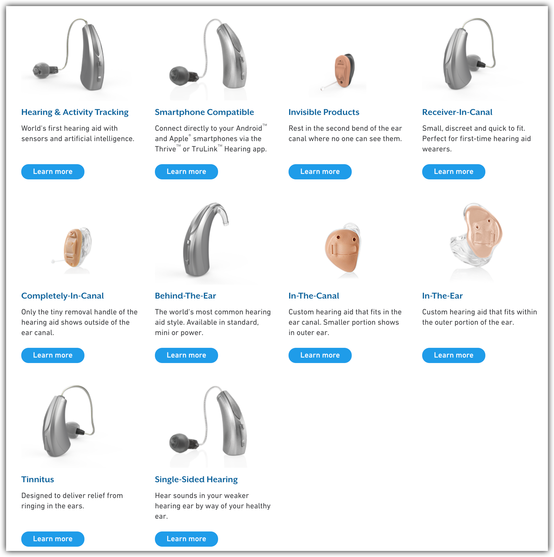 10 models of starkey hearing aids