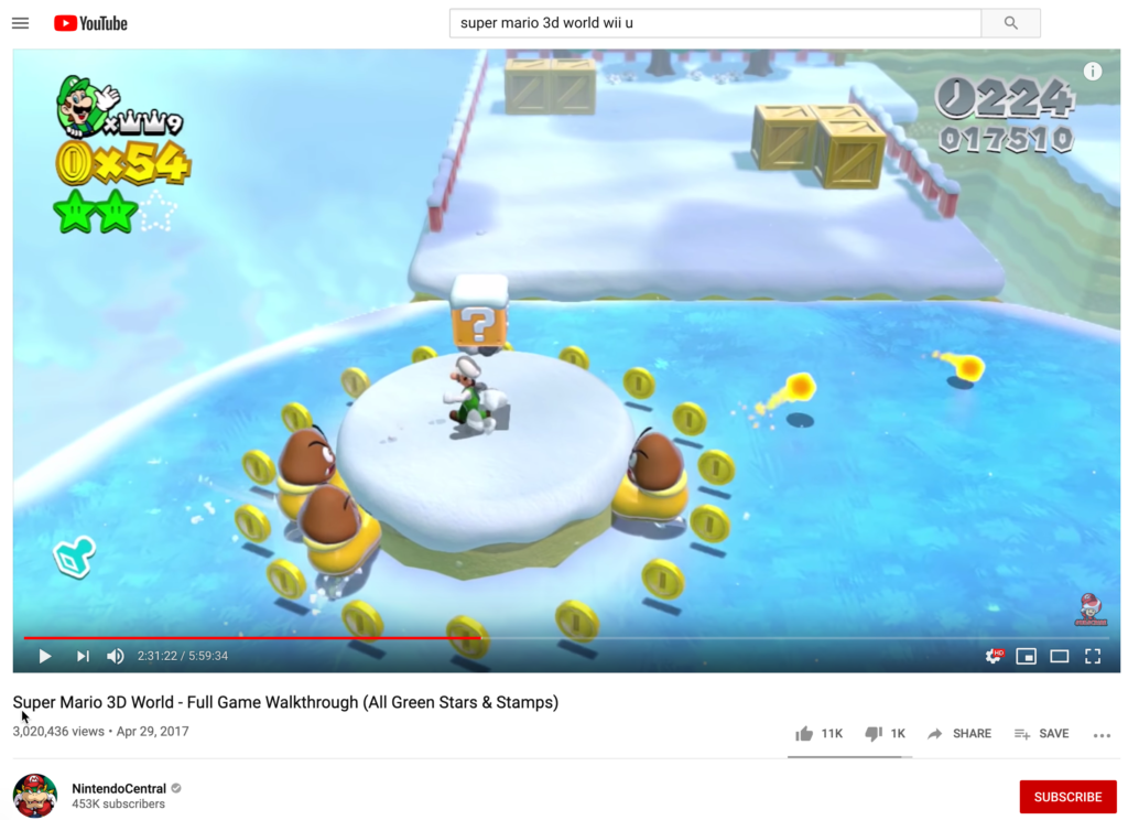 super mario 3d world luigi screenshot