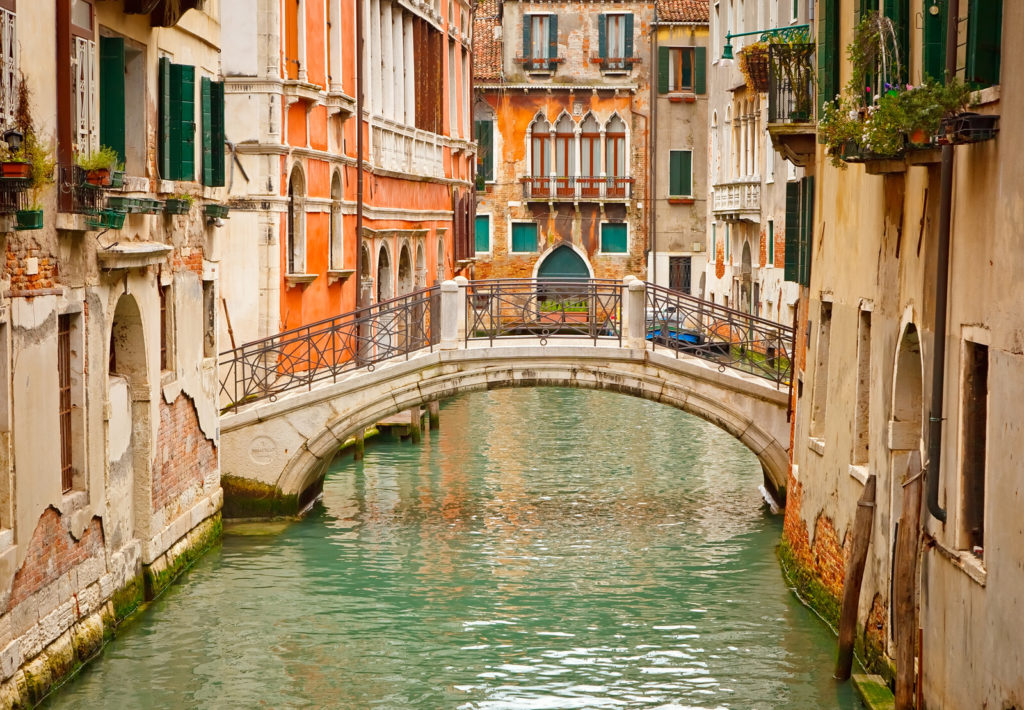 A beautiful Venice canal.