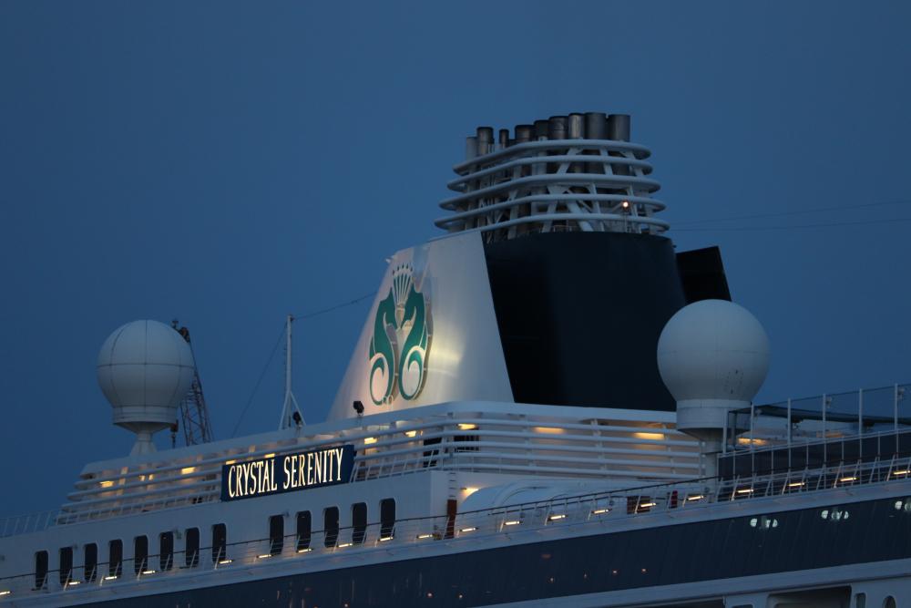 Crystal luxury cruise