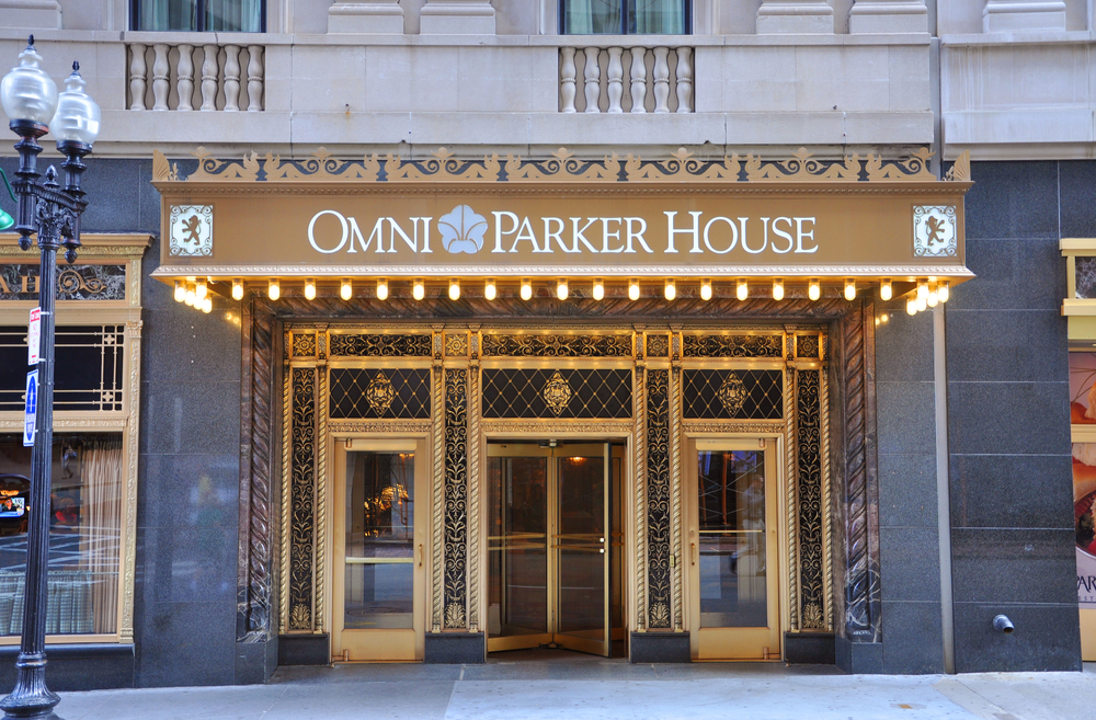 Omni Parker House Hotel Entrance Lobby