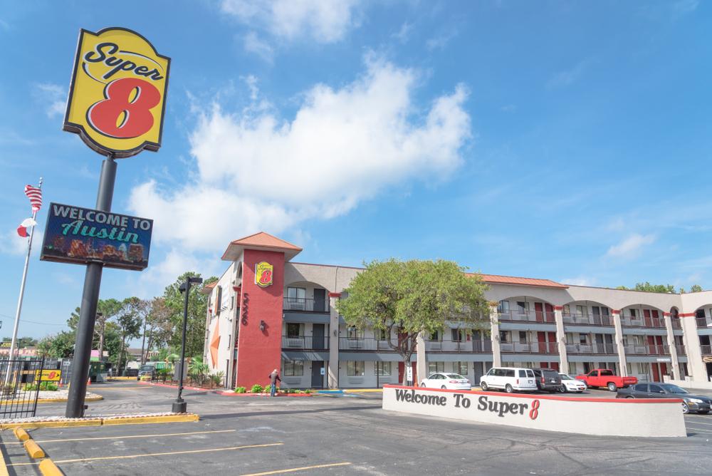 Super 8 motel in texas