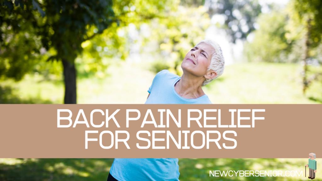 back pain relief seniors