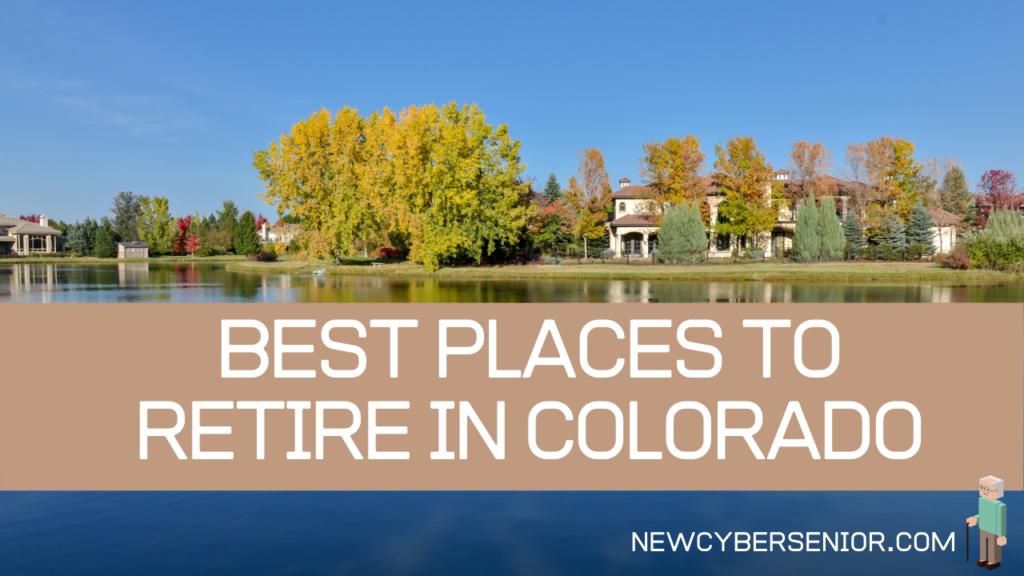 Retirement housing in Colorado along a lake