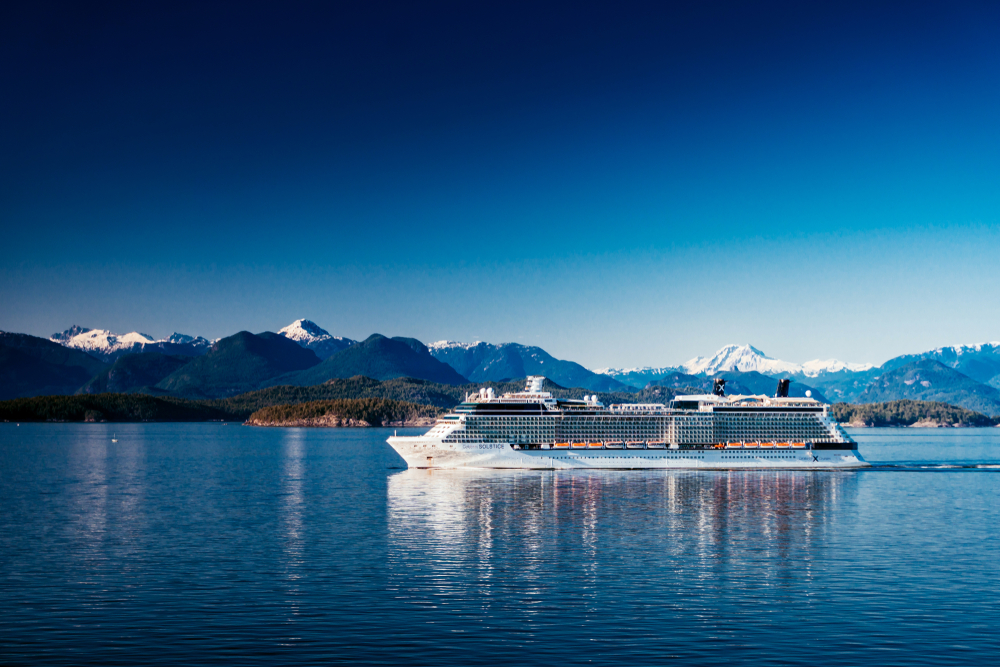 Celebrity cruise in Vancouver Canada