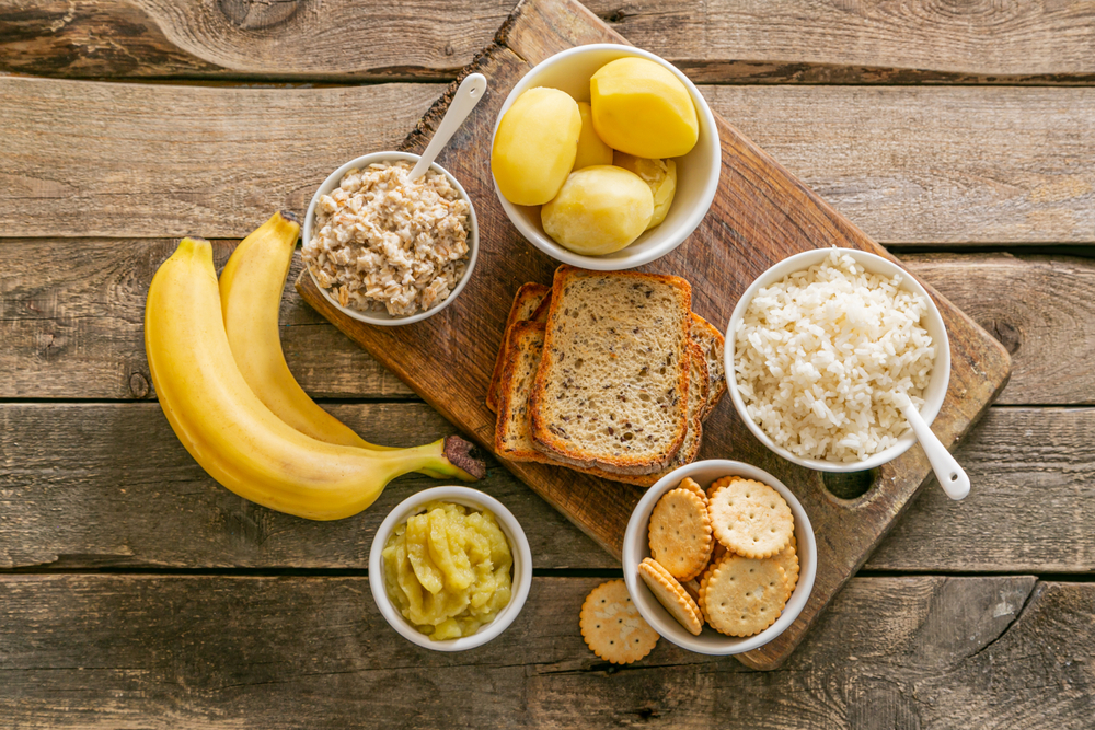 High fiber foods for diarrhea