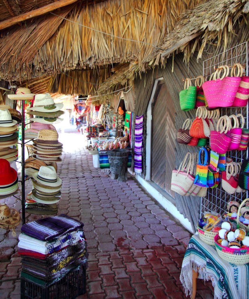 A Mexican market