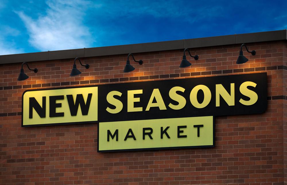 New Seasons Market Signage