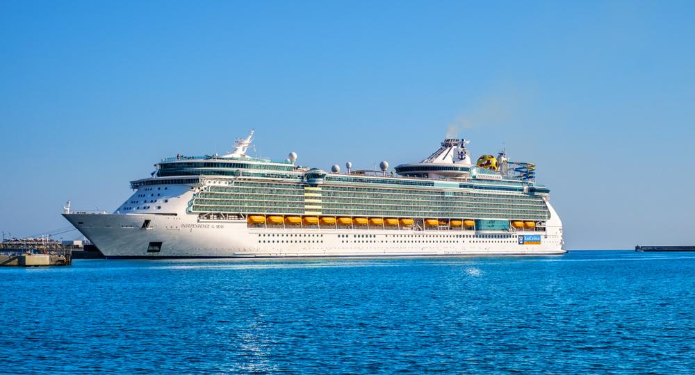 Royal Caribbean Cruise Ship in Spain