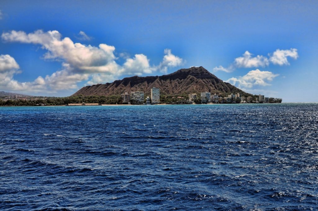Diamond Head on Oahu
