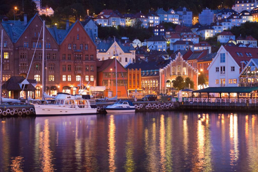 Bergen, Norway is a beautiful city.