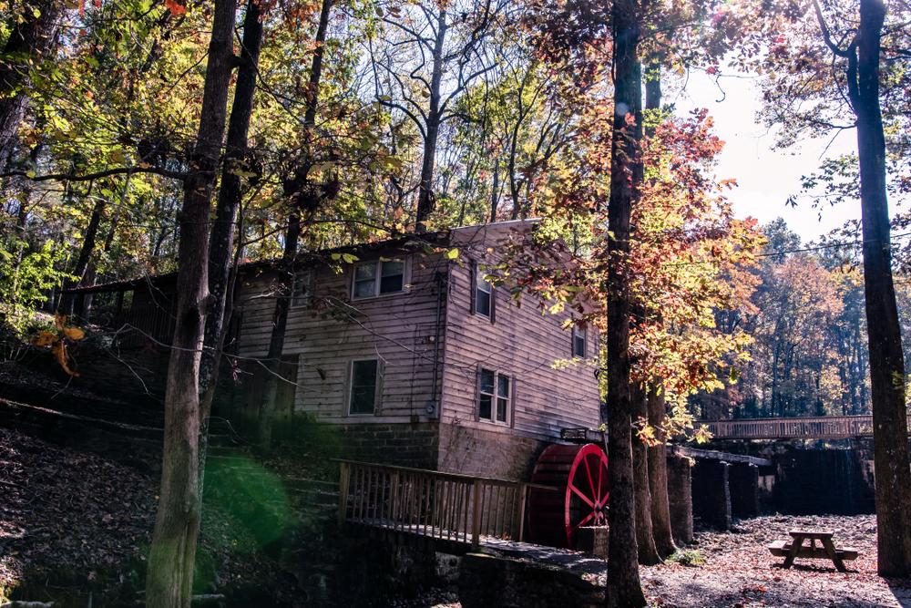 A historic mill in Cullman Alabama