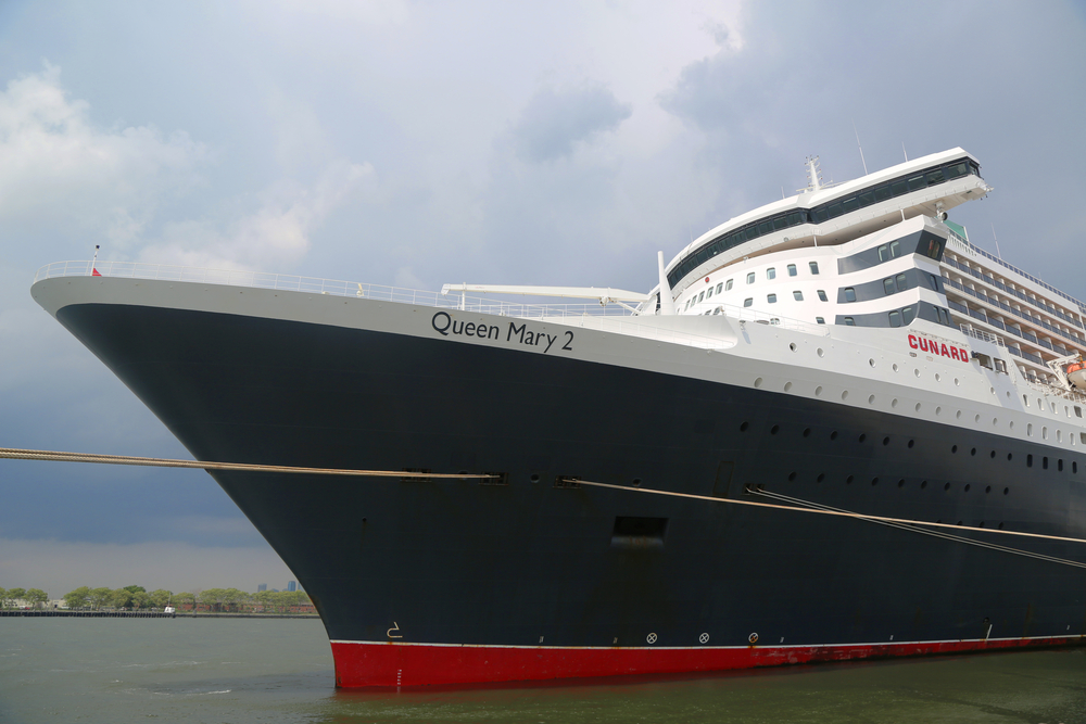 Queen Mary cruise ship from Cunard