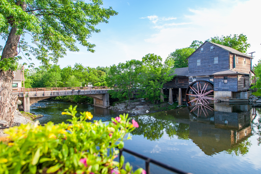 The Pigeon Forge mill in Tennessee