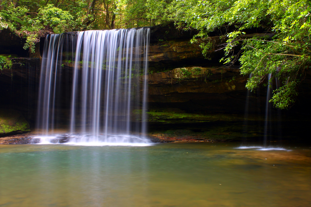 Waterfall in Bankhead National Forest