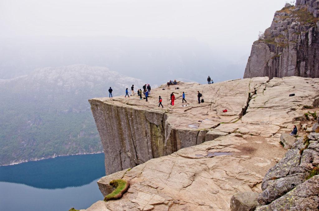Cliffs in Norway