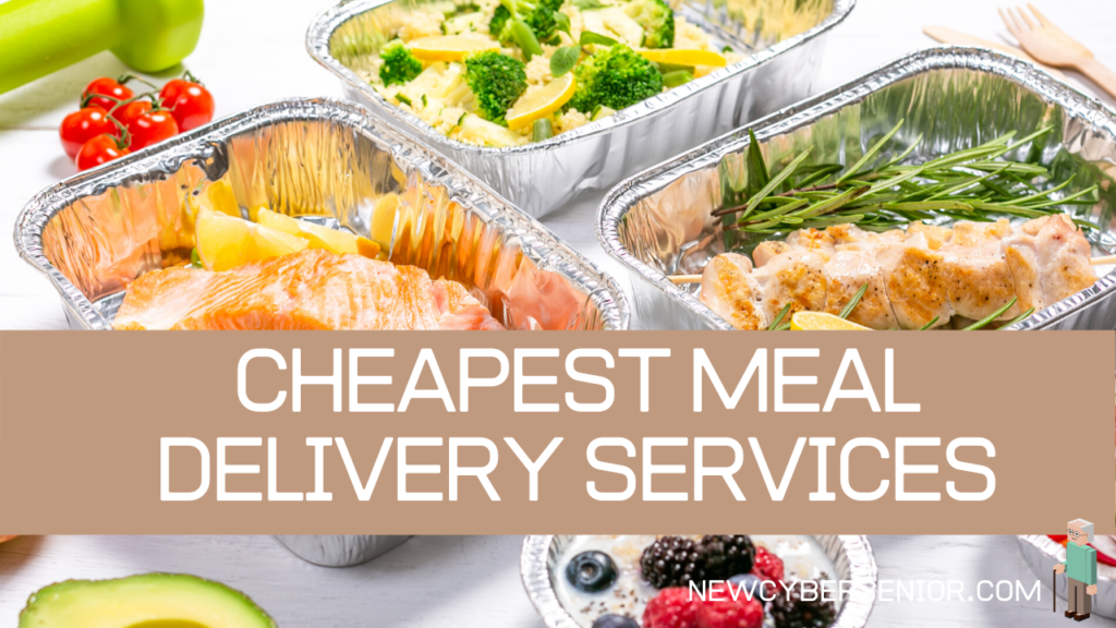 A selection of meals in foil packets that have been delivered