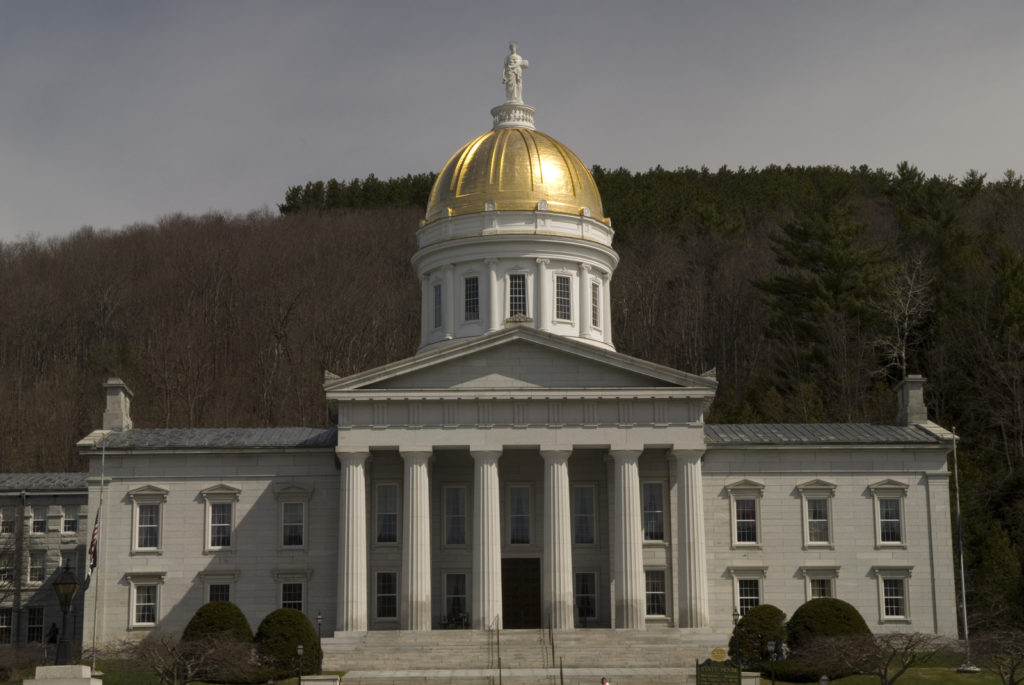 Capitol building in Montpelier