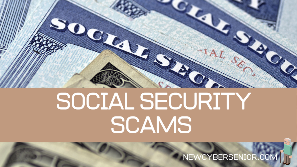 A close up image of social security cards and money