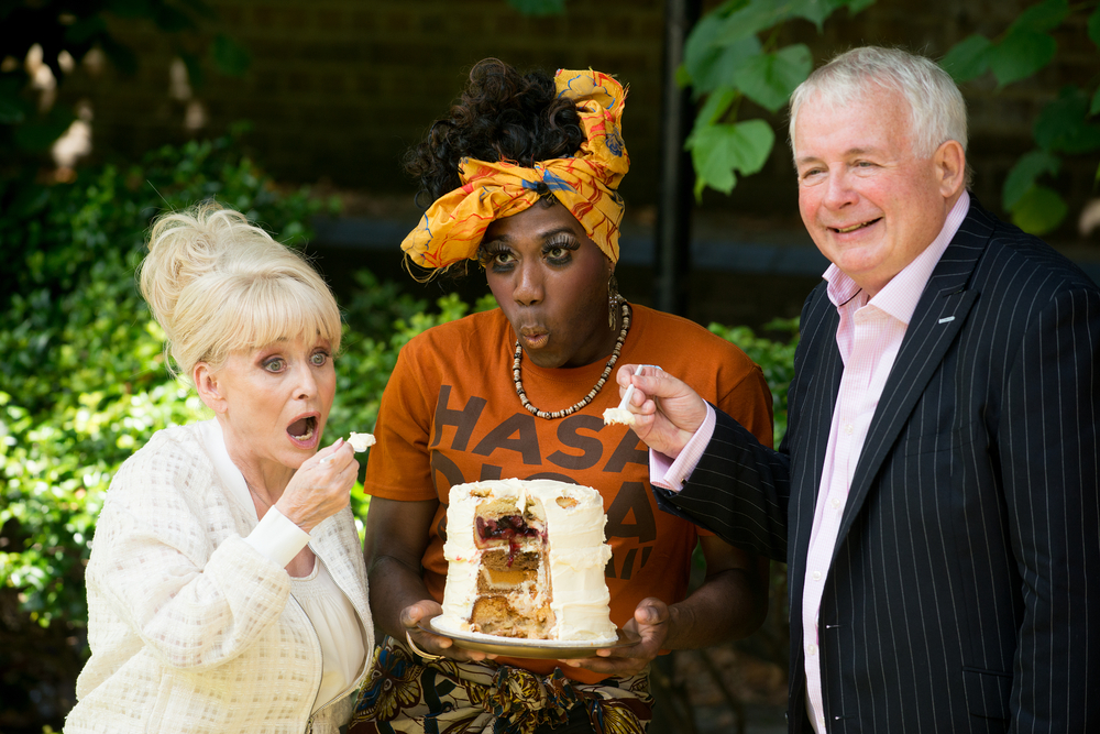 A promo photo for The Great British Baking Show