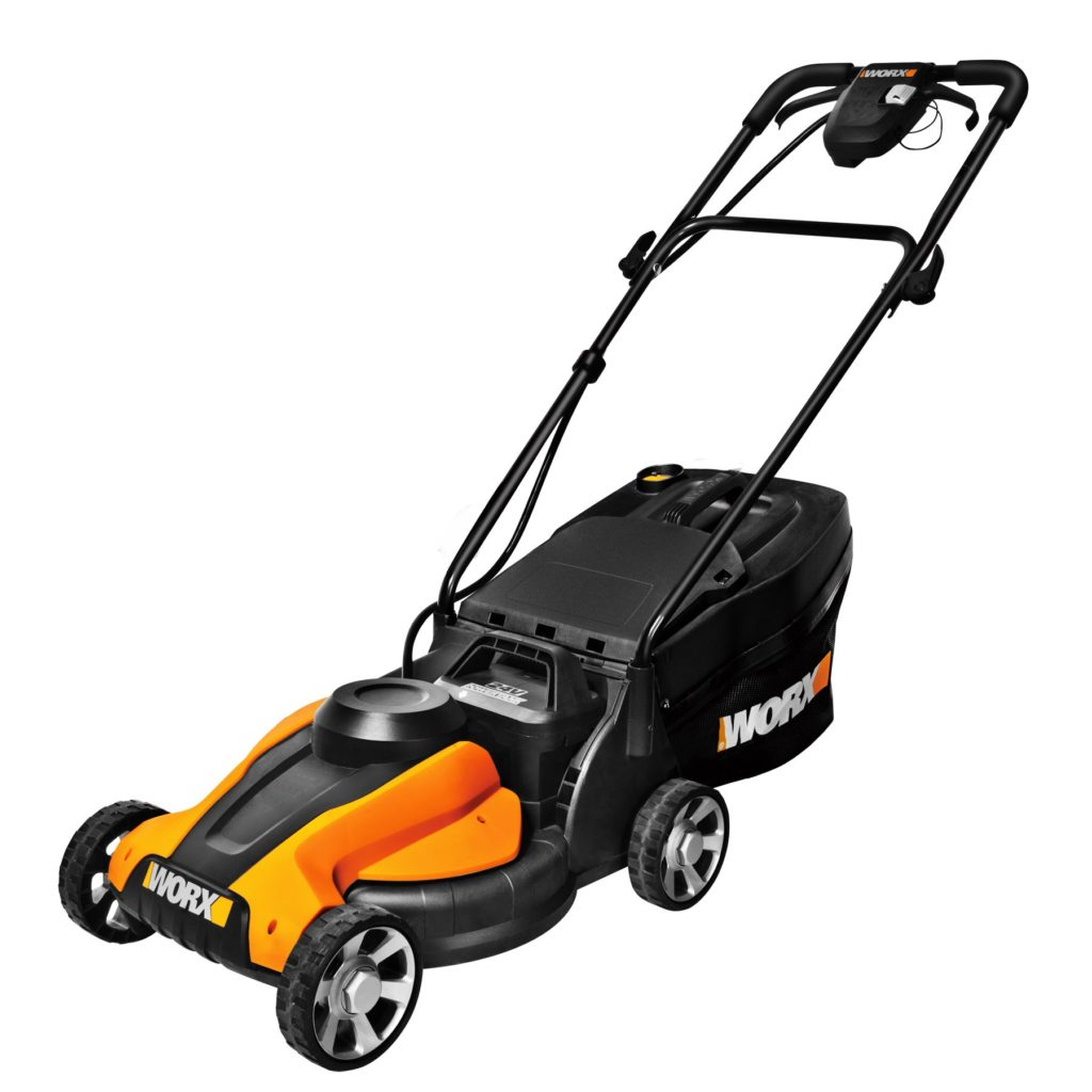 Work WG775 14-inch Cordless Electric Lawn Mower