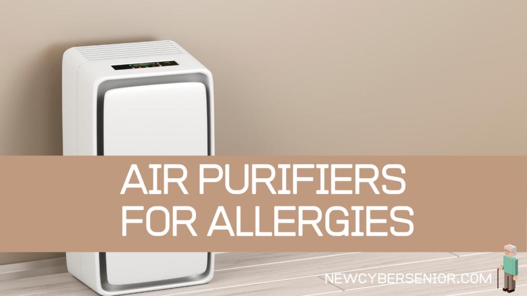 An air purifier in a house