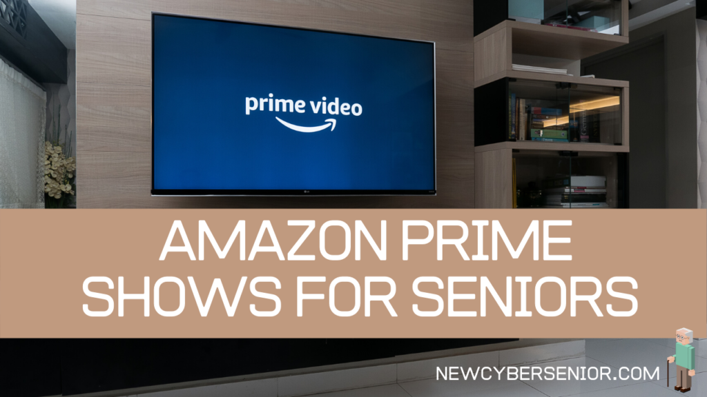 The Prime Video logo on a TV