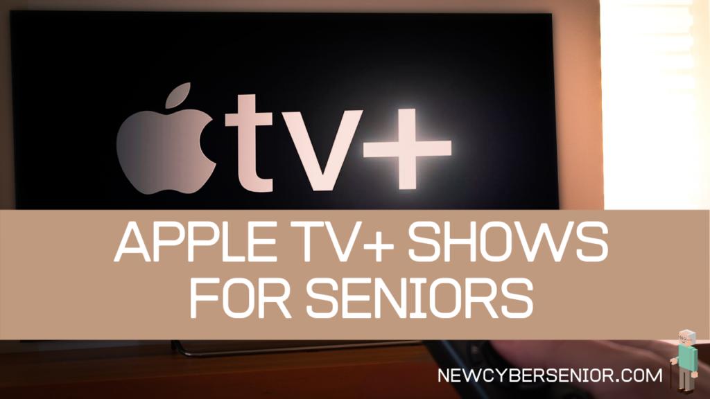 The Apple TV+ logo on a TV