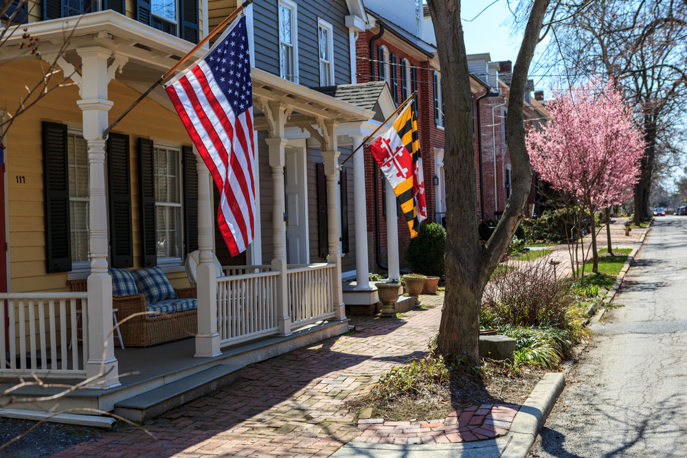 Houses in Chestertown Maryland