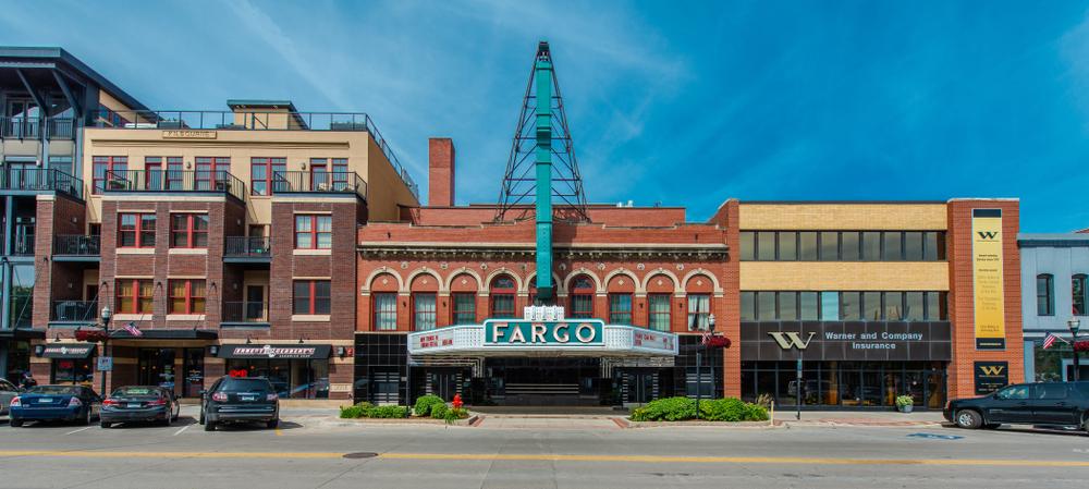 A historic cinema in Fargo North Dakota