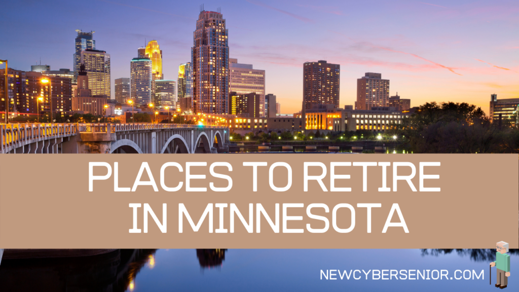 A sunset image of Minneapolis in Minnesota