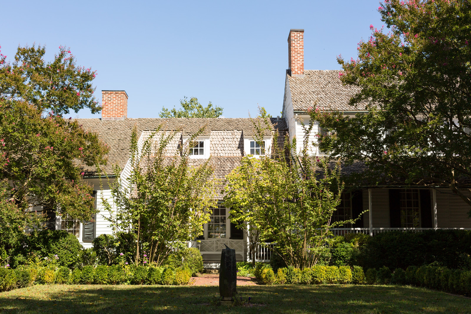 Mary Washington's house, mother of the president, located in Fredericksburg Virginia