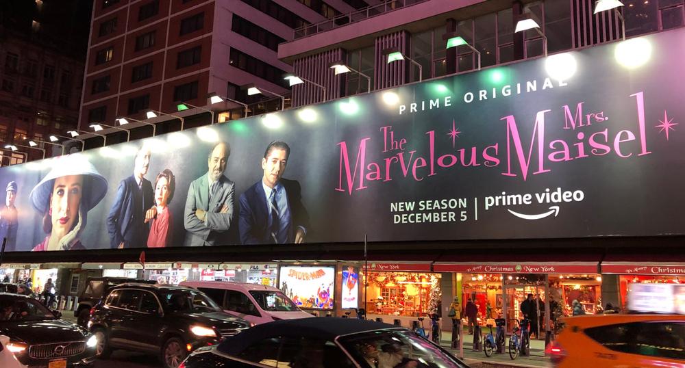 Marvelous Mrs Maisel TV Show on Amazon Prime