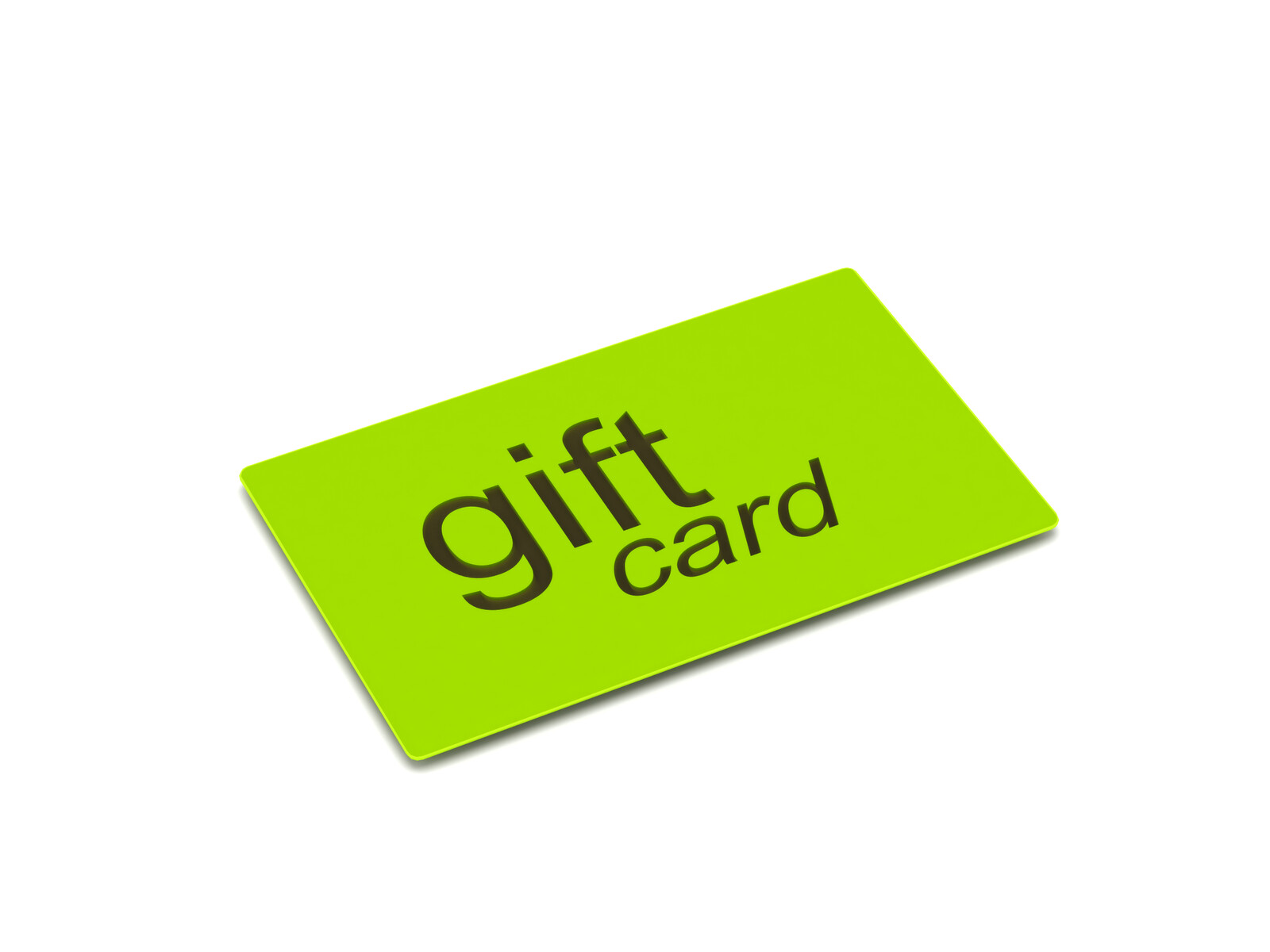 Lime Green Gift Card
