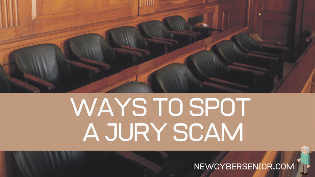 Empty seats in a courtroom for the jury to sit in