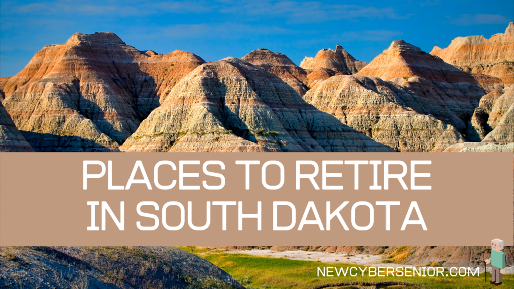The mountains in South Dakota, showing with the state is such a fantastic place to retire