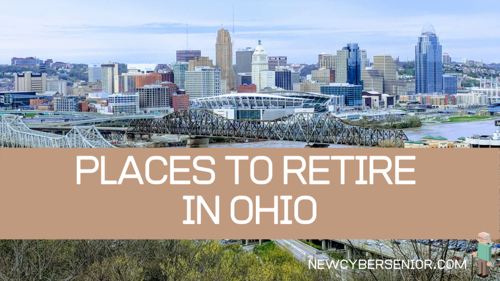 A view of the ciry in Cincinnati Ohio, talking about place to retire in Ohio