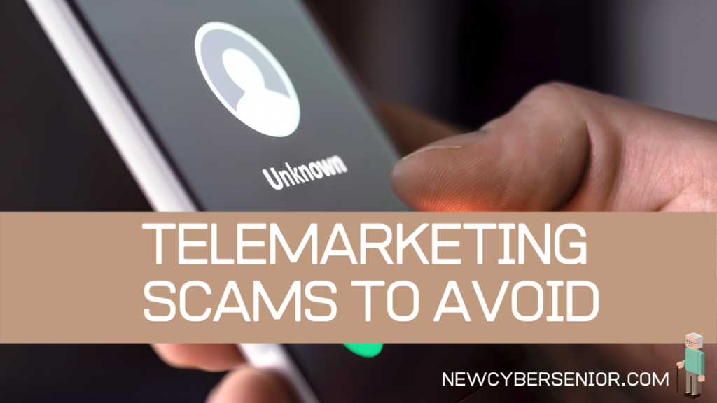 An unknown number on a cellphone, which could be a telemarketing scam