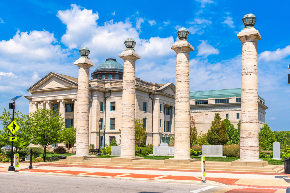 A courthouse in Columbia Missouri
