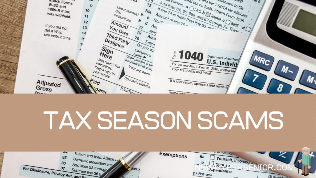 A selection of documents and a calculator that relate to tax season
